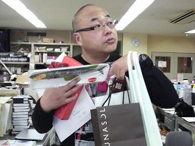 抱えきれないほどもらった津田さん