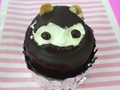 たぬきのケーキ♪