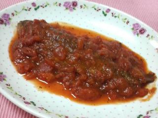 なんとかトラウトのトマト煮!