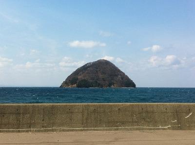 青空と海と湯の島