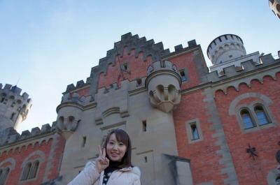 昨年の冬に、ドイツ・ノイシュバンシュタイン城で♪
