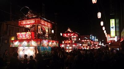 田名部神社前