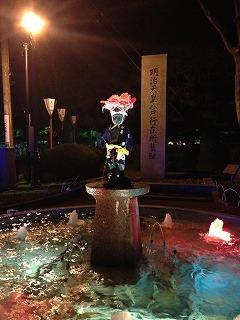 しょんべん小僧も お祭り仕様でした(^^)