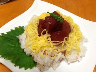 ☆ミョウガのちらし寿司☆