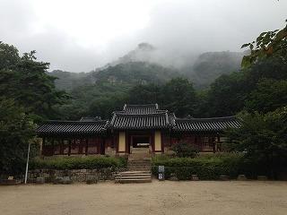 清平寺。由緒正しい寺院です