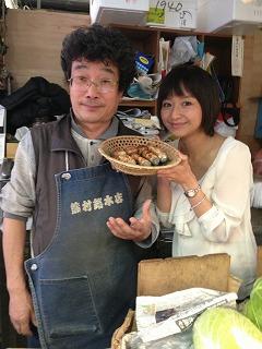 月イチ市場でおなじみの竹内さん♪いつもありがとうございます。