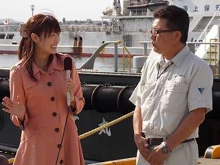 「はやて丸」船長の冨田さんにお話を伺いました(*^^*)