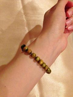 心をこめて作った数珠(^^) 大切にします