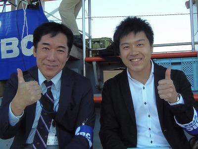 IBCのベテランアナウンサー・照井健さんと