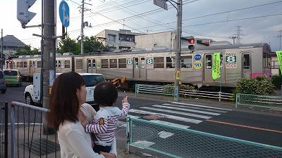実家の福島でも電車づくし