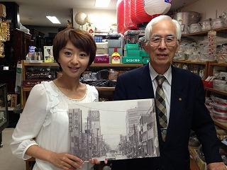 お世話になった小瀬川明寛さん。ありがとうございました。