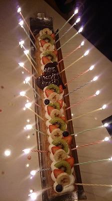 なが~~いロールケーキ!!