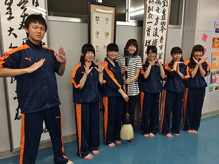 左から、 『八東(八戸東高校)ATV!』