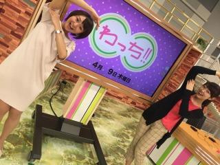小島アナと!わっち!!(6チャンネルを体で表現しました)