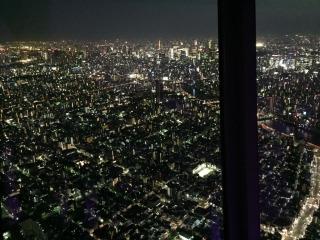 真ん中に東京タワーが!感動!