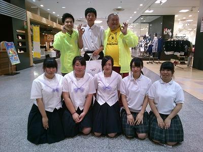 今月20日に五所川原で行われる『虫と火まつり』の親善大使になった高校生の有志たち