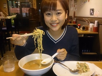 担々麺とチャーハンのセット