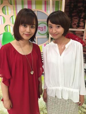 駒井アナと私、今日はめでたい紅白です