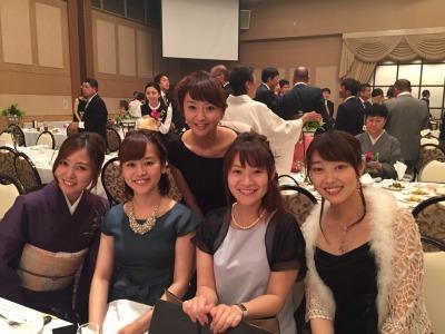 金曜中継リポーターの乘田さんとATVアナウンサーズ★