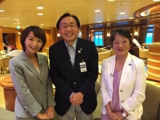 三村知事とカーニバルジャパンの木島社長がゲストととして出演してくださいました。ありがとうございます。