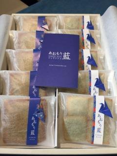 折り鶴の素敵なパッケージデザイン。