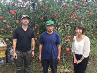 ハイネットのサービスを利用している小沢田さんの農園にお邪魔しました。ありがとうございました。