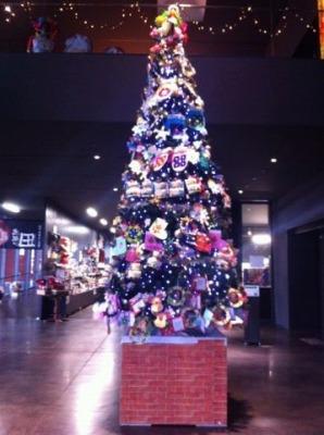 5メートルのクリスマスツリー!