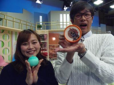 メロンボールと仮面ライダーアイス