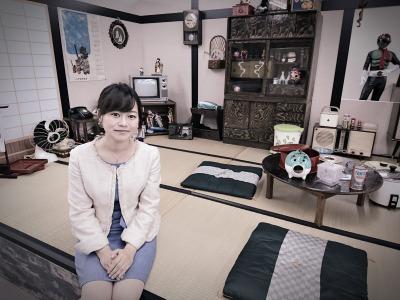 昭和の茶の間を再現