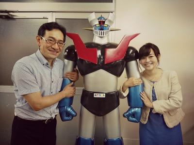 安田勝寿さんと