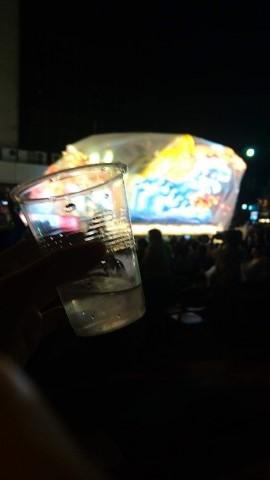 日本酒を飲んで温まります
