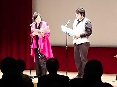 メンソーレ川端さんは親子で共演♪