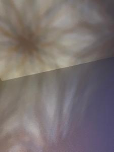 組子ランプ光