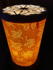組子ランプ