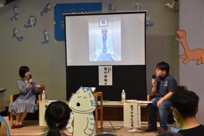 団子さんは兵庫県在住のためリモート(;_;)いつかお会いしたいです!